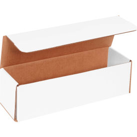 """Corrugated Mailers 17-1/2"""" x 3-1/2"""" x 3-1/2"""" 200#/ECT-32 White - Pkg Qty 50"""