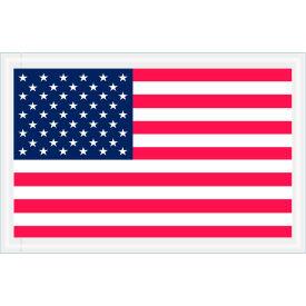 """Full Face Envelopes - USA Flag 5-1/4 x 8"""" Red/White/Blue - 1000/Case"""