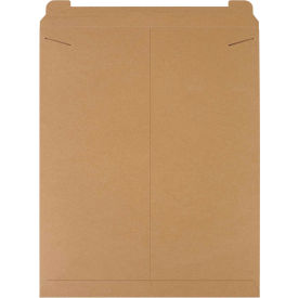 "Stayflat Tab Lock Mailers, 22"" x 27"" Kraft, 50 Pack"