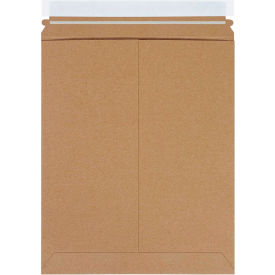 "Self-Seal Stayflat Mailers 11"" x 13-1/2"" Kraft, 100 Pack"