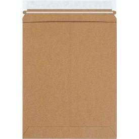 """Self-Seal Stayflat Mailers 9-3/4"""" x 12-1/4"""" Kraft, 100 Pack"""