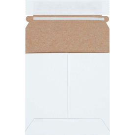 """Self-Seal Stayflat Mailers 5-1/8"""" x 5-1/8"""" White, 200 Pack"""