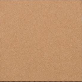 "Corrugated Layer Pads 5-7/8"" x 5-7/8"" 200#/ECT-32 Kraft, 100 Pack"