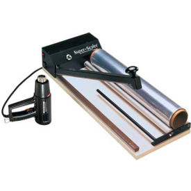 """Super Sealer Shrink Film with Bar Sealer, Heat Gun & 100' Shrink Film Roll System For 16""""W Film by"""