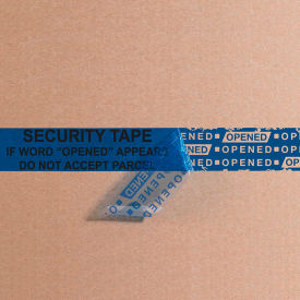 "Tape Logic® Secure Tape 3"" x 60 Yds. 2.5 Mil Blue 1 Pack"