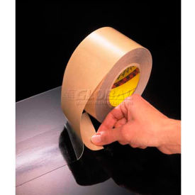 "3M™ Adhesive Transfer Tape 465 Hand Rolls 1"" x 60 Yds 2 Mil - Pkg Qty 6"