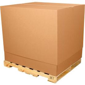 "Telescoping Inner Box 47-1/4"" x 39-1/2"" x 25"" 200#/ECT-32 Kraft"