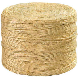 1-Ply Sisal Twine, 190 lb. Tensile Strength, 3000' L by