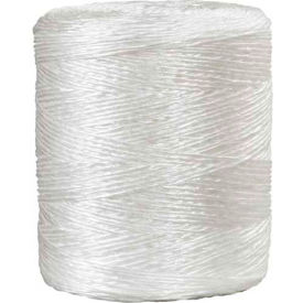 1-Ply Polypropylene Tying Twine, 210 lb. Tensile Strength, 5500' L by