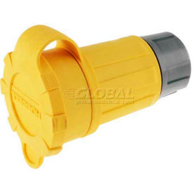 Bryant 27W75BRY Watertight Connector, NEMA L15-20R,20A/250V, 3PH