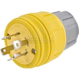Bryant 28W74BRY Watertight Plug, NEMA L14-30, 30A/125/250V