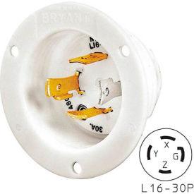 Bryant 71630MB TECHSPEC® Base, L16-30, 30A, 3ph 480V AC, White