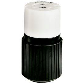 Bryant 72320NC TECHSPEC® Connector, L23-20, 20A, 3ph 347/600V AC, Black/White