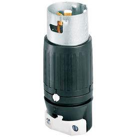 Bryant CS6361 Locking Device Plug, 125V, 50A