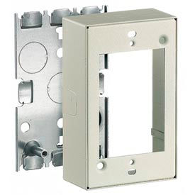 Bryant HBL57483IV 3 Gang Device Box, Ivory