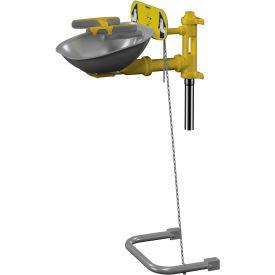 Bradley® Eyewash, SS Bowl, Hand/Foot Operated - S19224Y