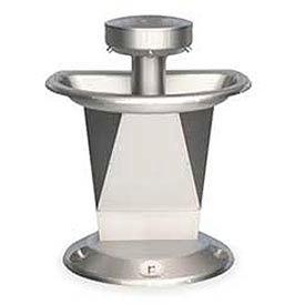 Bradley Wash Fountain / Semi-Circular /Off-line Vent / Series SN2003 / 3 Person