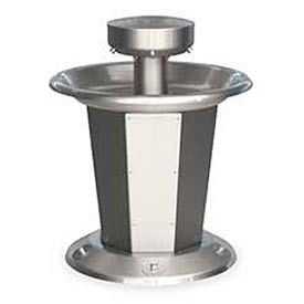 Bradley Wash Fountain, Circular,Off-line Vent, Series SN2005, 5 Person