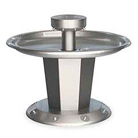 Bradley Wash Fountain, Circular, Off-line Vent, Series SN2008, 8 Person