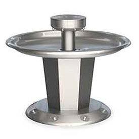 Bradley Wash Fountain, Circular,Raising Vent, Series SN2008, 8 Person