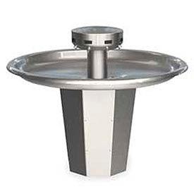 Bradley Wash Fountain, Circular, 110/24 VAC, Series SN2008, 8 Person