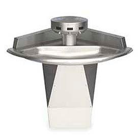 Bradley Wash Fountain, 110/24 VAC, Corner, Series SN2013, 3 Person