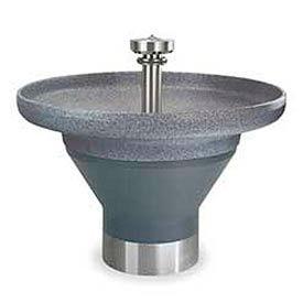 Bradley Wash Fountain, Circular, Gray, Infrared, Series TDB3108, 8 Person