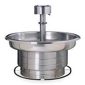 Bradley Wash Fountain, 36 In Wide, Circular, Series WF2706, 5 Person