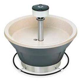 Bradley Wash Fountain, 36 In Wide, Circular, Series WF2805, 5 Person Sink