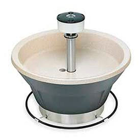 "Bradley Wash Fountain, Circular, 54"" Wide, Series WF2808, 8 Person Sink"
