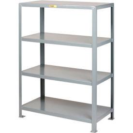 Little Giant®  Welded Steel Shelving, 4 Shelves, 18 x 32