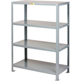 Little Giant®  Welded Steel Shelving, 4 Shelves, 30 x 60