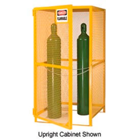 Little Giant®  Gas Cylinder Cabinet, Upright & Horizontal, 72 x 38 x 70