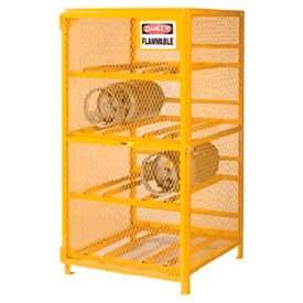 Little Giant®  Gas Cylinder Cabinet, Horizontal, 36 x 38 x 70