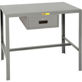 Little Giant®  Steel Top Machine Table, 24 x 36 x 30, w/Accessory Drawer