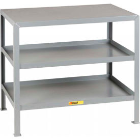 Little Giant®  Machine Table, 3 Shelves, 24 x 36