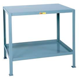 Little Giant®  Machine Table, 2 Shelves, 30 x 48