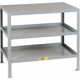 Little Giant®  Machine Table, 3 Shelves, 30 x 48