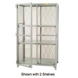 Little Giant®  All Welded Storage Locker, 1 Center Shelf, 24 x 60