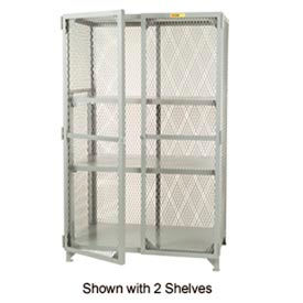 Little Giant®  All Welded Storage Locker, 1 Adj. Center Shelf, 30 x 48