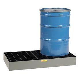 Little Giant® Low Profile Spill Control Platform SSB-5125-66 - 2-Drum - 66 Gallon