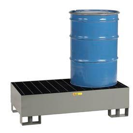 Little Giant® Forkliftable Spill Control Platform SST-5125 - 2-Drum - 33 Gallon