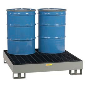 Little Giant® Forkliftable Spill Control Platform SST-5151 - 4-Drum - 66 Gallon