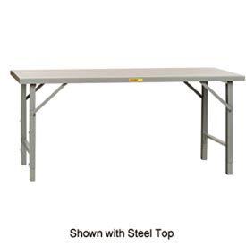 Little Giant®  Folding Leg Workbench, Hardboard over Steel, 36 x 72