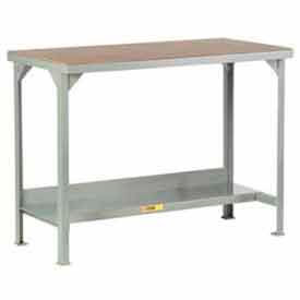 "Little Giant®  48""W x 24""D Adj.  Workbench w/ Open Base, Shop Top Square Edge"