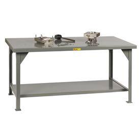 Little Giant®  Heavy Duty 7 Gauge Steel Workbench, Fixed Height, 30 x 36