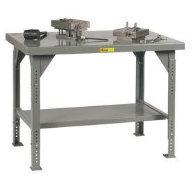 Little Giant®  Heavy Duty 7 Gauge Steel Workbench, Adjustable, 30 x 48