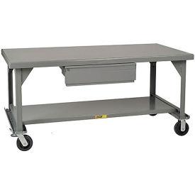 Little Giant®  Mobile Heavy Duty, 7 Gauge, Steel Workbench, Drawer, 30 x 36