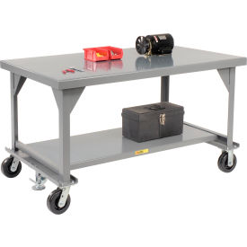 Little Giant®  Mobile Heavy Duty, 7 Gauge, Steel Workbench, 36 x 60