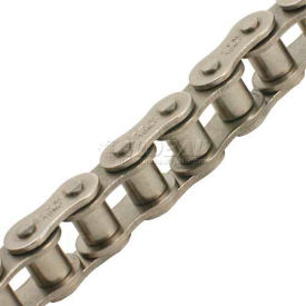 """Tritan Precision Ansi Nickel Plated Roller Chain - 120-1np - 1 1/2"""" Pitch - 10ft Box"""